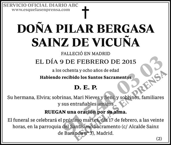 Pilar Bergasa Sainz de Vicuña
